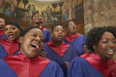 Gospel Choir Stock Photos