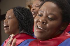 Gospel Choir - stock photo