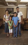 Portrait of Family Stock Photos