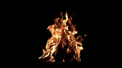 Fire in slow motion Stock Footage