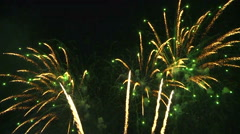 Spectacular Fireworks Stock Footage