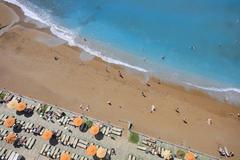 Beach aerial view Stock Photos