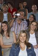 People in Auditorium - stock photo
