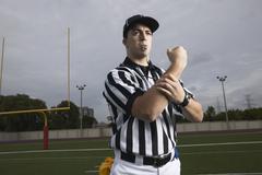Portrait of Referee Stock Photos