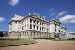 Congress Building, Montevideo, Uruguay - stock photo