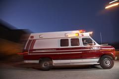 Moving Ambulance Kuvituskuvat