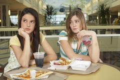 Teenagers Having Argument Stock Photos