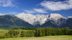 Landscape in Tirol - stock footage