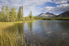 Rabbitkettle Lake, Nahanni National Park Reserve, North West Territories, Canada Stock Photos