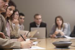 Business People at Meeting Kuvituskuvat