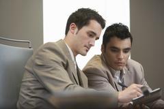 Businessmen at Meeting Stock Photos