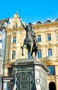 Stock Photo of ban jelacic statue