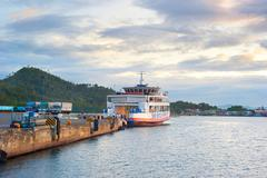 Stock Photo of ferry boat, philippines