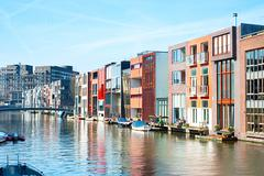 zeeburg, amsterdam - stock photo