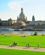 Dresden day off Stock Photos