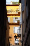 Alleyway, Rome, Italy Stock Photos