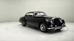 Bentley Continental R 1952 A Stock Footage