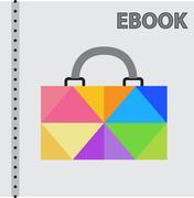 Collegiate portfolio Stock Illustration