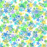 Christmas holiday seamless pattern Piirros