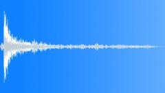 metal door opens - 1 - sound effect