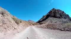 Titus Canyon Death Valley National Park Stock Footage