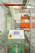 production line control - stock photo