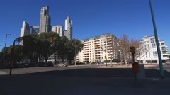 Stock Video Footage of Traffic in Puerto Madero