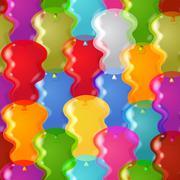 Stock Illustration of balloon background seamless