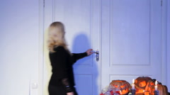 Trick-Or-Treat. Studio shoot, Canon 5D Mark III,Tripod, Artifical light Stock Footage