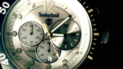 Men's wristwatch , Time Lapse Graded Stock Footage