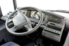 Bus dashboard Stock Photos