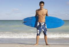 Portrait of Surfer Kuvituskuvat