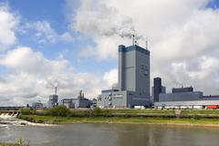 Pulp Mill, Dryden, Ontario, Canada - stock photo