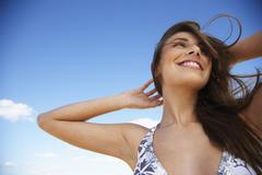 Woman in Bikini - stock photo