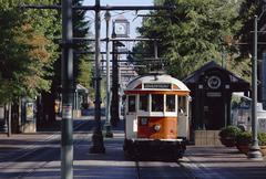 Streetcar in City, Memphis, Tennessee Kuvituskuvat