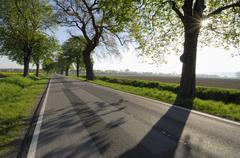 Country Road, Mecklenburg-Western Pomerania, Germany Kuvituskuvat