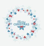 Christmas decoration - stock illustration
