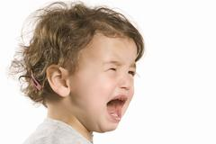 Little Girl Crying Stock Photos