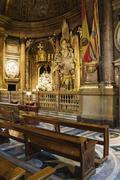 Shrine to Our Lady of the Pillar, Zaragoza, Aragon, Spain - stock photo