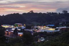 Village of Santa Elena, Costa Rica Stock Photos