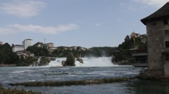 Rhine Falls Stock Footage