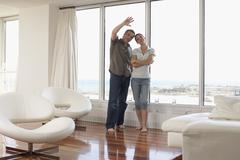 Stock Photo of Couple in Condominium