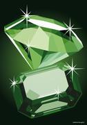 Illustration of Diamonds Stock Illustration