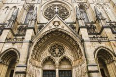 St. John the Divine Cathedral, New York City, New York, USA Stock Photos