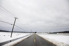Stock Photo of Road, Fraser Valley, British Columbia, Canada