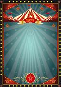 Black fun circus Stock Illustration