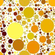 set abstract spherical luminous gold stars - stock illustration