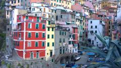 Rio Maggiore, Cinque Terre, Liguria, italy Stock Footage