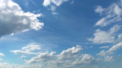 Sky with clouds. Timelapse - stock footage