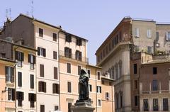 Campo dei Fiori, Rome, Latium, Italy - stock photo